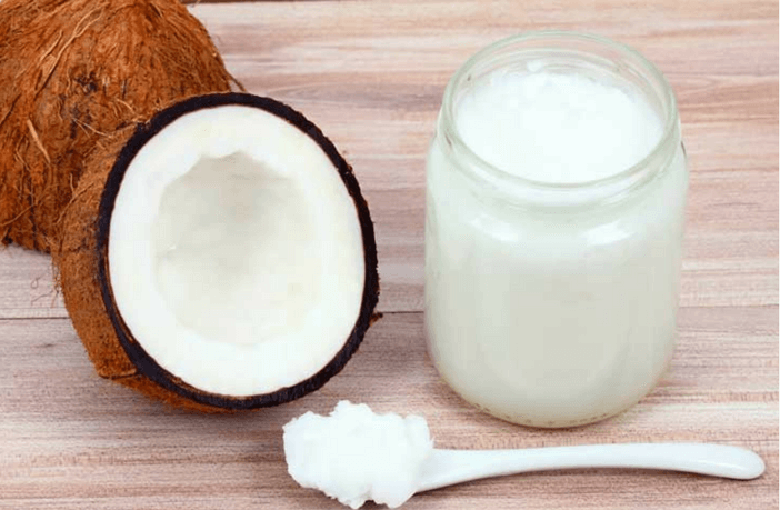 coconut oil to remove darkness
