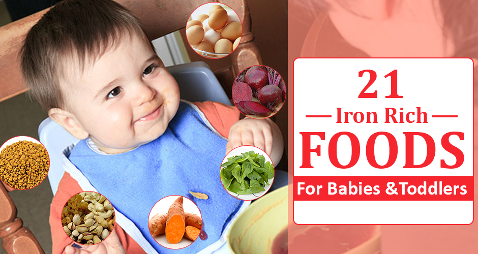 21 Iron Rich Foods For Babies And Toddlers