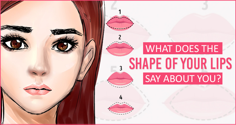 What does your shape of lips tell about your personality