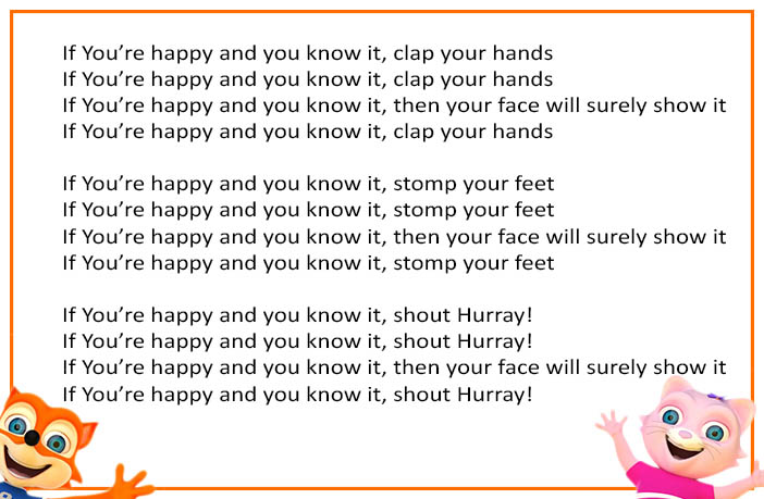 if your happy and you know clap your hands - 702×459