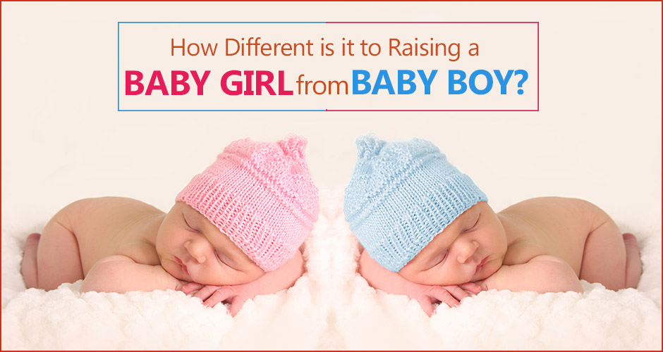 7 Differences between raising a boy and a girl child
