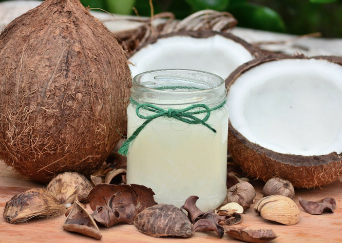 coconut oil for nails