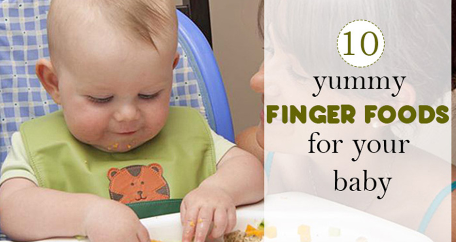 10 Finger Foods That Children Absolutely Love