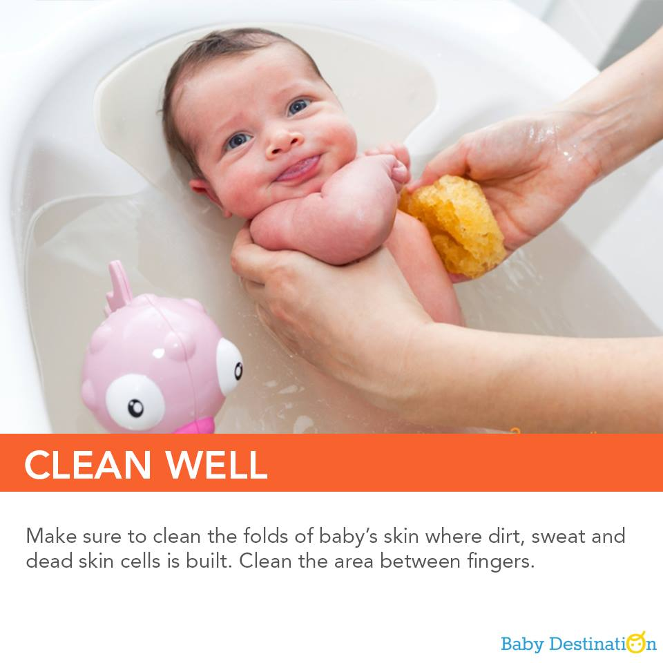How To Give A Sponge Bath To Your Baby