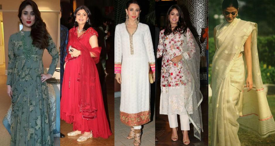 Dressing up like Celeb Moms this Diwali