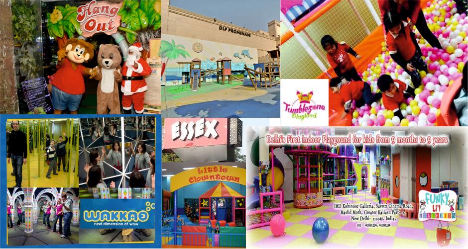 Top 10 Play Areas in Delhi-NCR