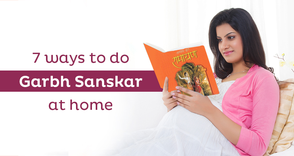7 ways to do garbh sanskar at home