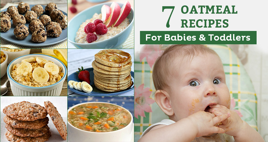 Benefits of Oatmeal in your child's diet (with 7 recipes)