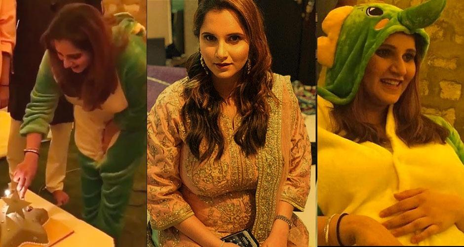 देखिये सानिया मिर्जा ने अपनी गोदभराई को कैसे अनोखे अंदाज में सेलिब्रेट किया