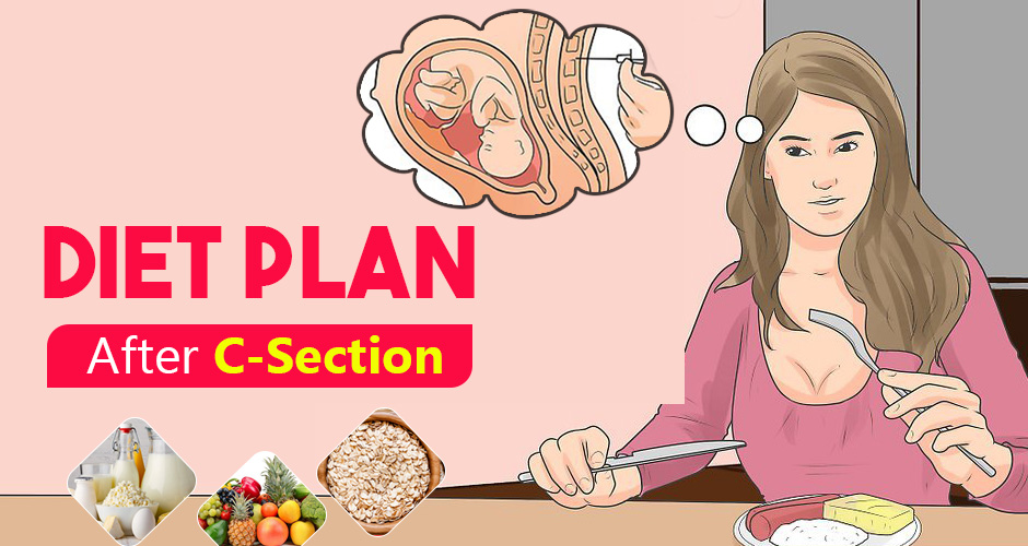 Diet Plan After C-Section - What to eat & What to avoid