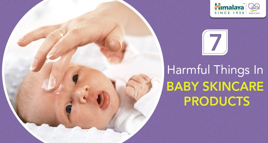 7 Harmful Things in Baby Skincare Products You Should Look Out For!