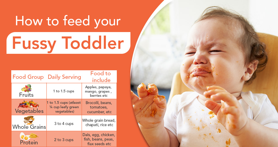How to feed your fussy toddler (with chart)