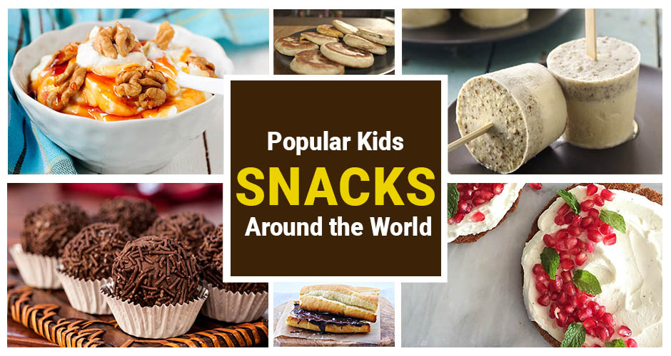 11 Popular Kids Snacks From Around The World