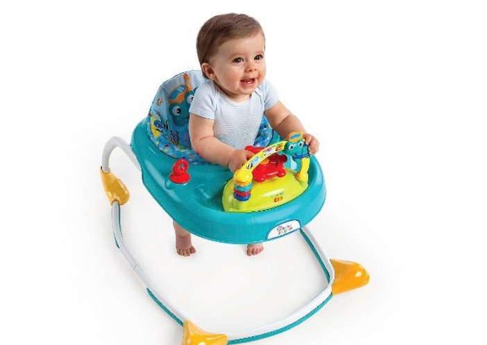 is it safe to use baby walker