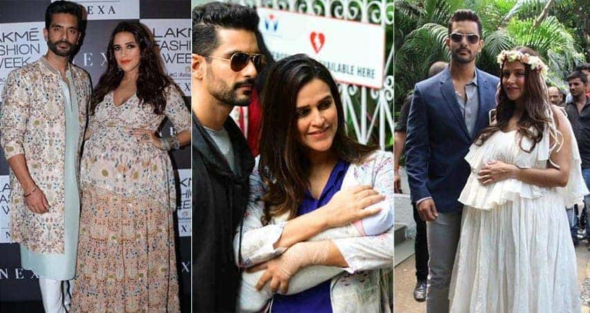 It's A Girl For Neha Dhupia And Angad Bedi