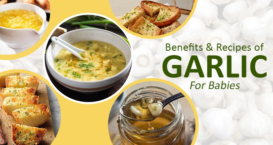 Garlic For Babies: Health Benefits & Recipes