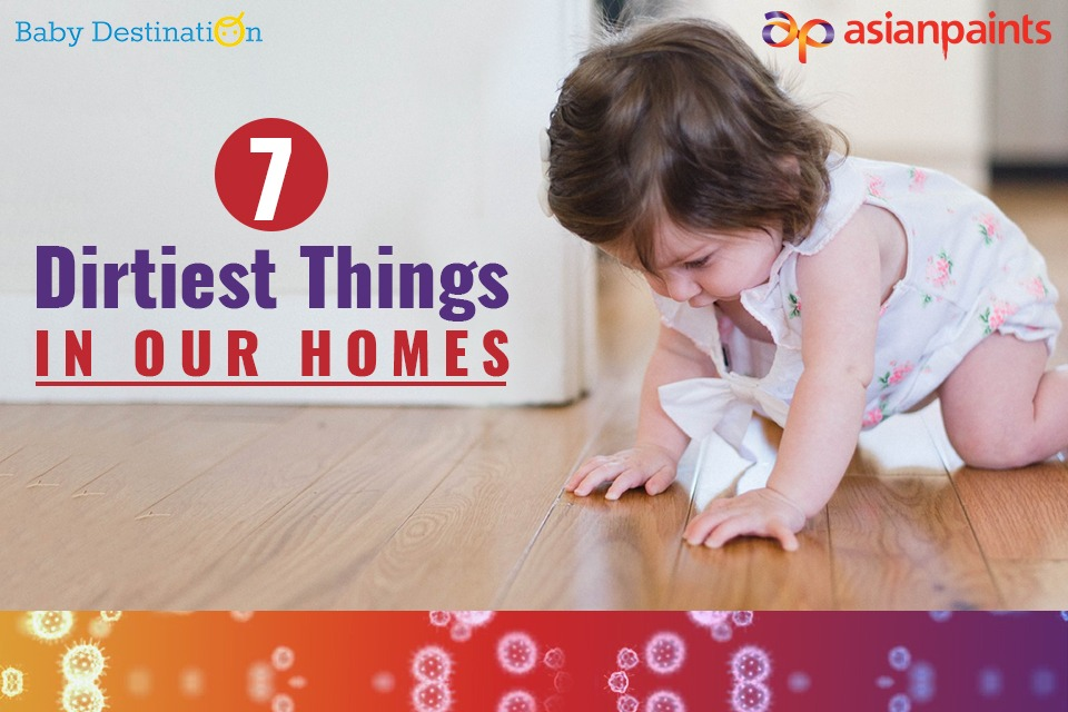 7 Dirtiest Things In Our Homes