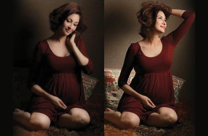 Maternity Photoshoot of Saumya Tandon